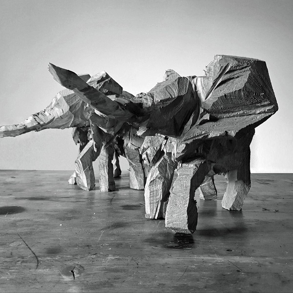 tierreich, Elsa Nietmann, Elefanten
