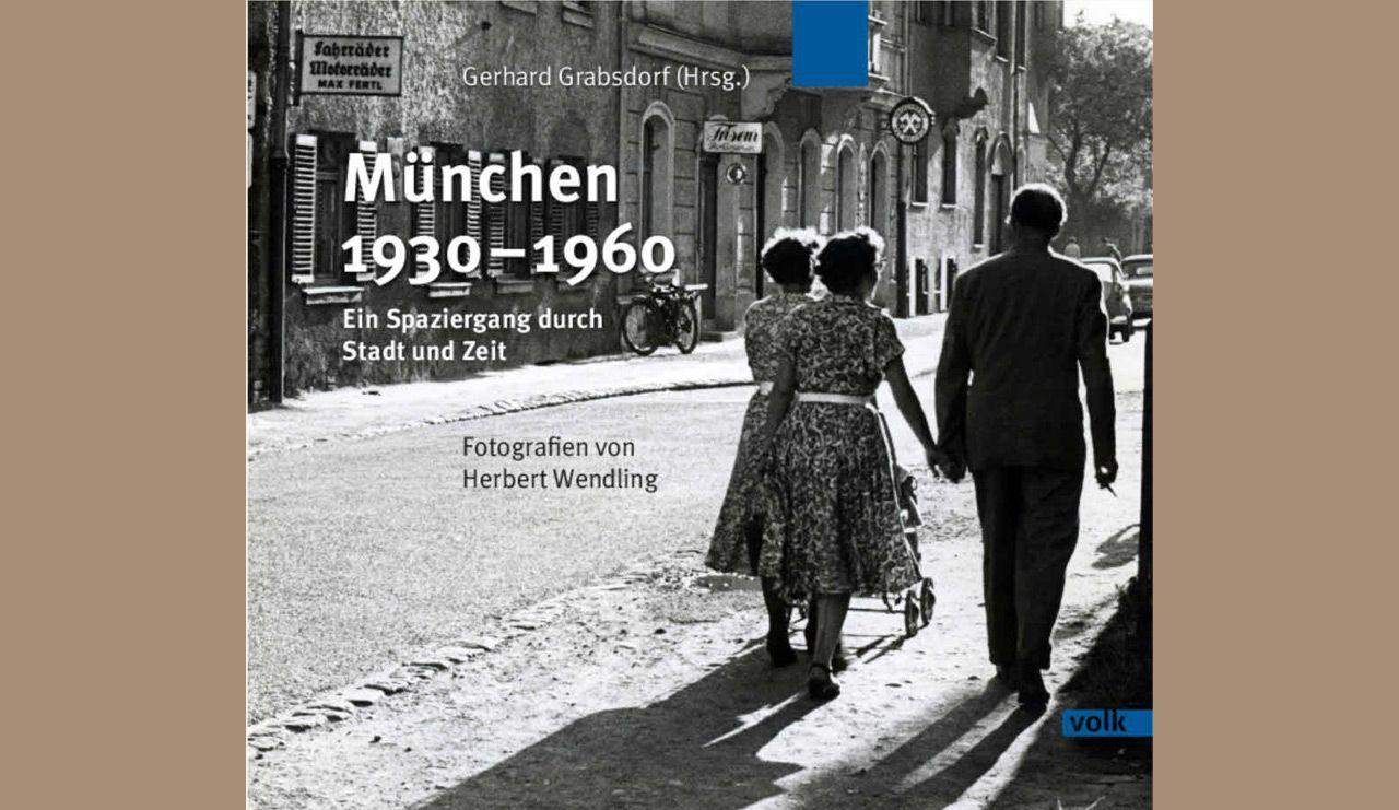 Cover des Bildbandes München 1930 - 1960