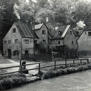 Herbert Wendling, Quellenstraße in der Au