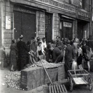 Herbert Wendling, Kartoffelverteilung