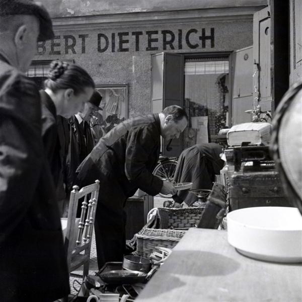 Herbert Wendling, in der Au