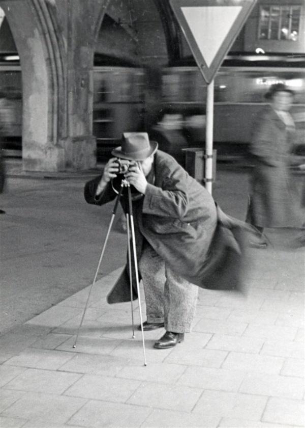 Herbert Wendling vor dem Alten Rathaus