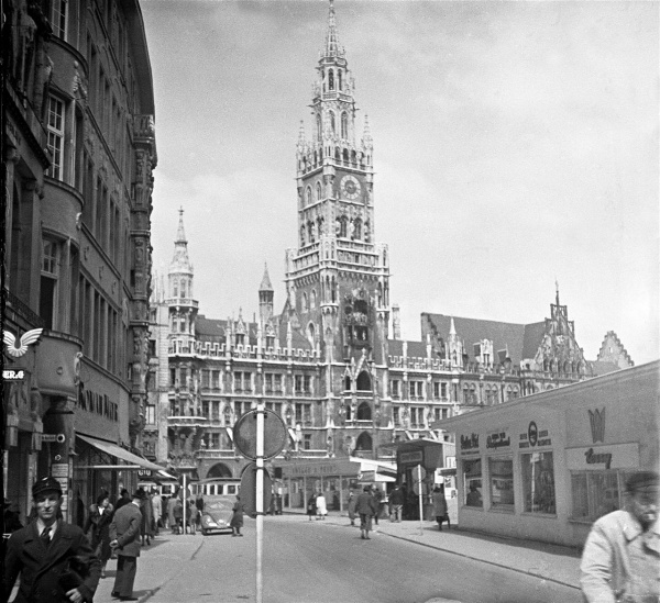 Herbert Wendling, Rosenstraße und Marienplatz