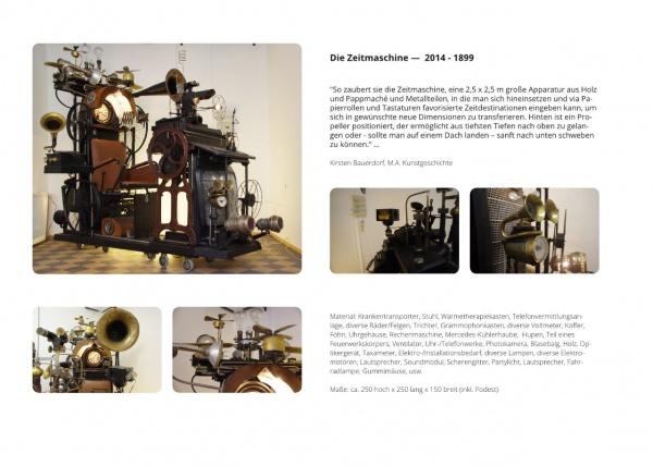 LowTech Instruments Museum, Charly-Ann Cobdak, Die Zeitmaschine