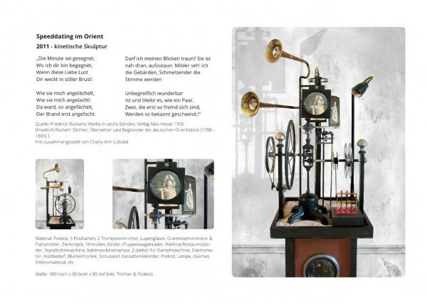 LowTech Instruments Museum, Charly-Ann Cobdak, Speeddating im Orient