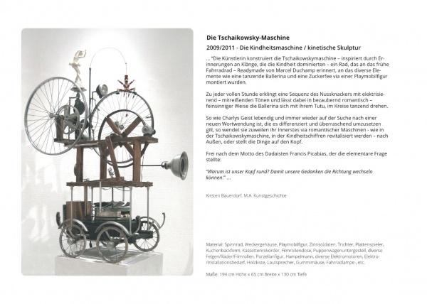 LowTech Instruments Museum, Charly-Ann Cobdak, Die Tschaikowsky-Maschine