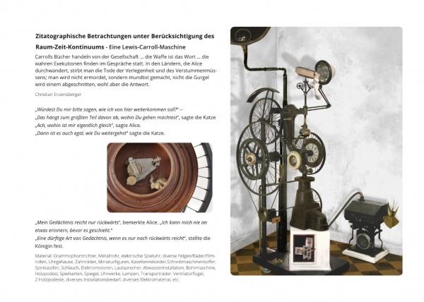 LowTech Instruments Museum, Charly-Ann Cobdak, Lewis-Caroll-Maschine