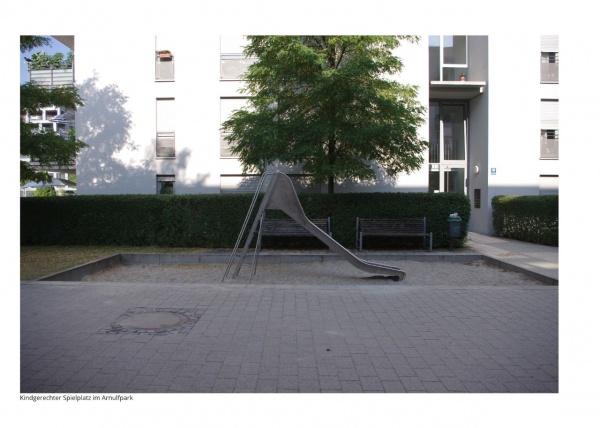 Gerhard Grabsdorf, Tanz um die Ecke, Kindgerechter Spielplatz