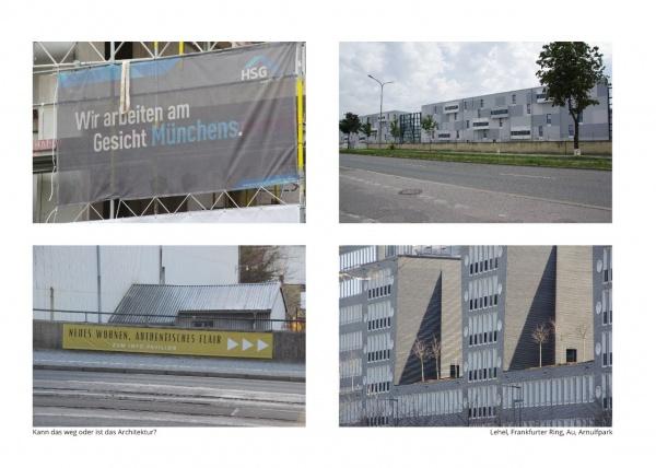 Gerhard Grabsdorf, Tanz um die Ecke, Architektur