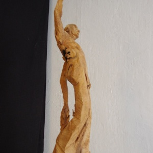 Sägewesen - o.T. (Apfelmann) - Elsa Nietmann