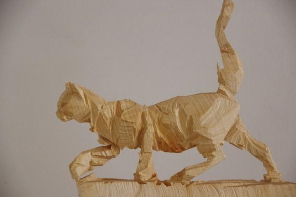 Sägewesen - Kätzchen - Elsa Nietmann