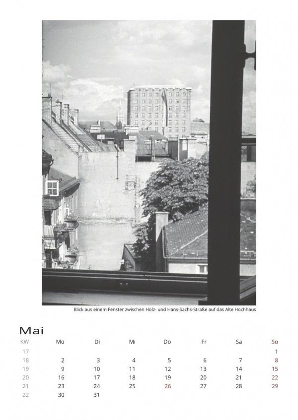 Kalender 2022 | Historische Münchenfotografien aus den 50er & 60er Jahren von Herbert Wendling
