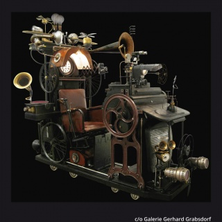 Pressebild, Plakat LowTech Instruments Museum